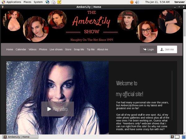 Amberlilyshow.com Movies