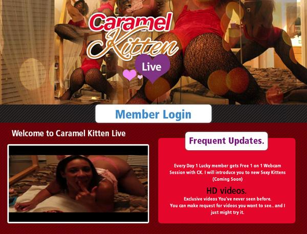 Caramelkittenlive.com Credits