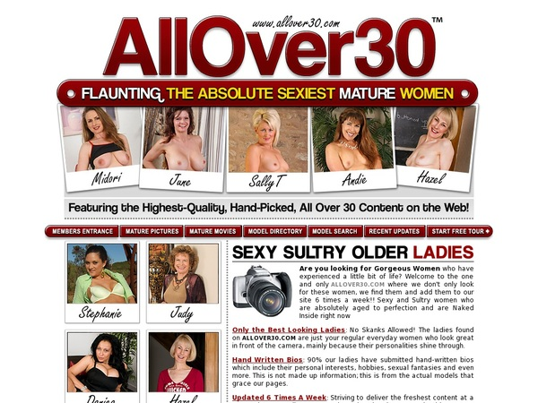 Free Account For Allover30