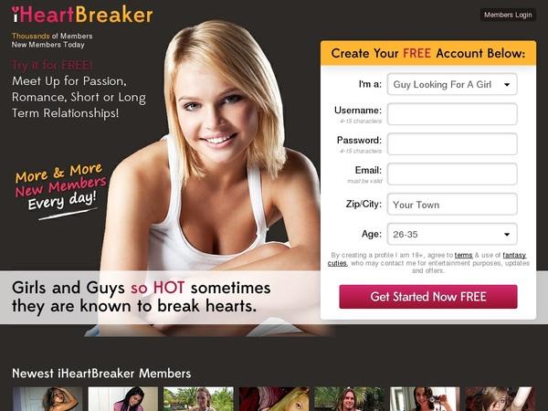 Premium Account Iheartbreaker Free