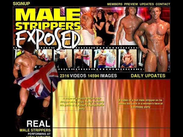 Premium Malestrippersexposed Pass