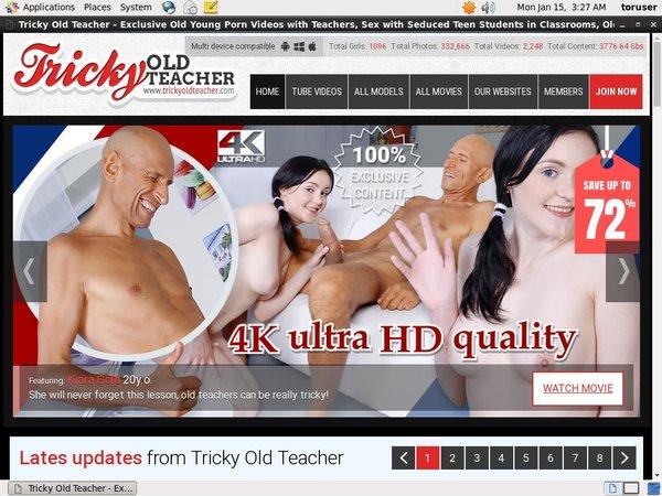 Tricky Old Teacher Acc