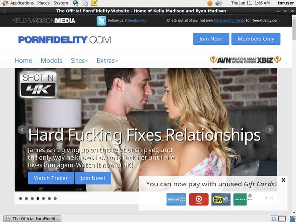 Login Pornfidelity.com For Free