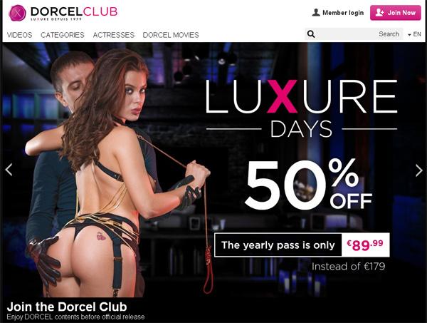 Dorcelclub.com Paypal Checkout