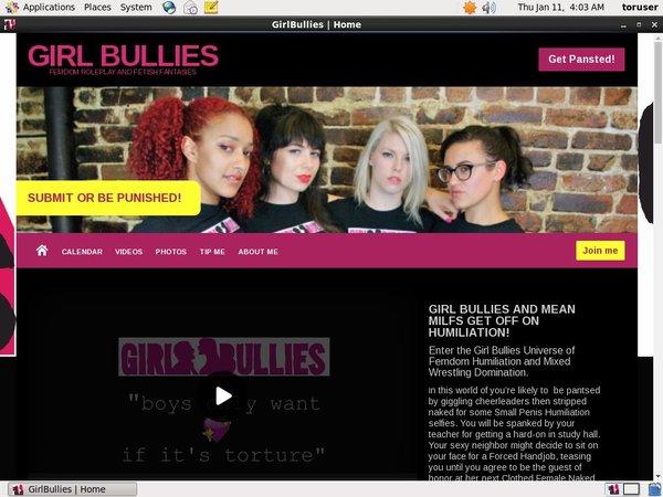 Free Premium Girl Bullies