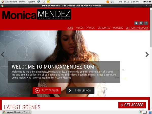 Monica Mendez Login Ids