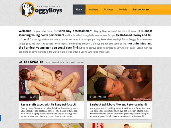 Doggyboys Account Gratis