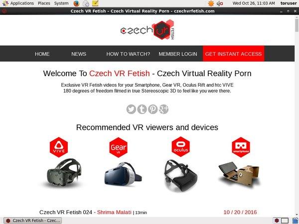 Membership To Czech VR Fetish