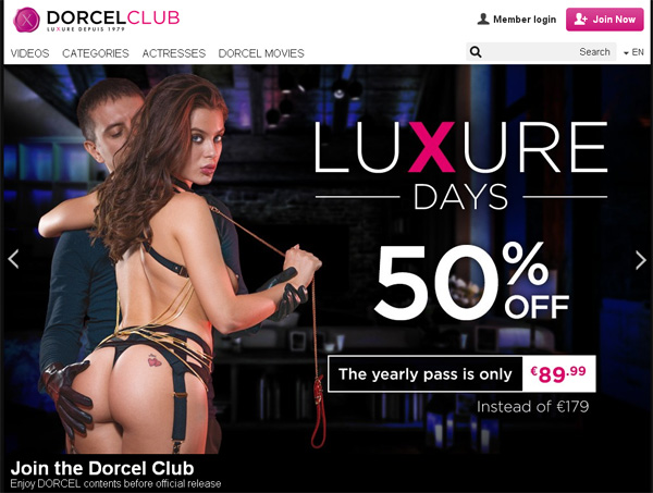 Dorcel Club Dvd