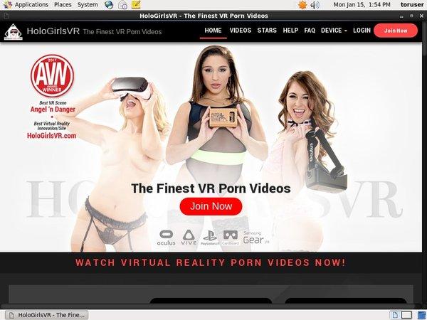 Free Trial VR Girls Holo