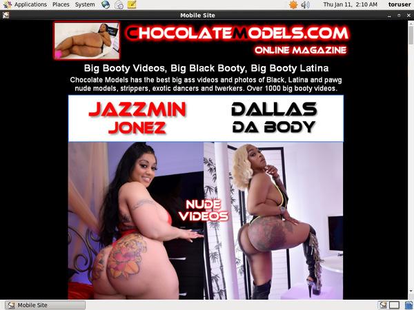 Chocolate Models Discounted Membership